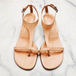 Donald J Pliner Coral Pink Viana T Strap Sandals